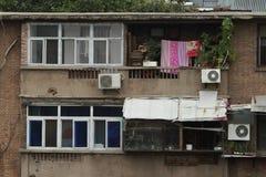 Häuser in Xian China Stockbilder