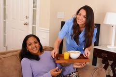 Häusliche Pflege Lizenzfreies Stockbild