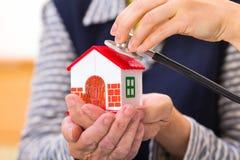 Häusliche Pflege stockfoto