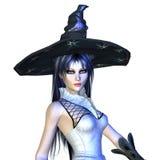 häxa för 3d halloween Arkivbild