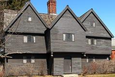 Häxahuset i Salem arkivfoto