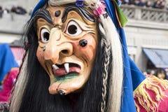 Häxamaskering på karnevalet Royaltyfria Foton