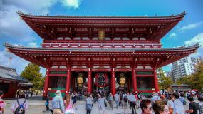 Hōzōmon gate at Tokyo stock photos