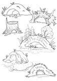 hål Vektor Illustrationer