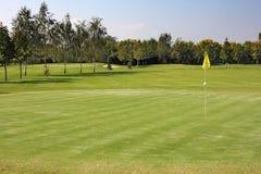 Hål av golf Royaltyfri Foto