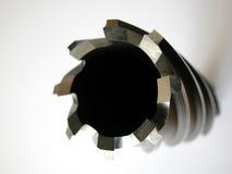 hål bore1 arkivfoton