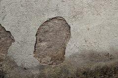 Hål i trottoarväggtextur Royaltyfria Bilder