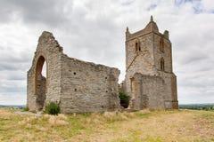 Håla Mump Somerset England Arkivbild