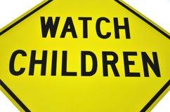 Håll ögonen på för barn Royaltyfri Bild