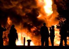 Hålla ögonen på branden Royaltyfri Bild