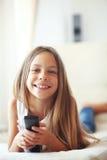 hålla ögonen på för barntv Arkivbilder