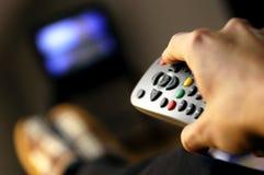 hålla ögonen på för tv Arkivfoton