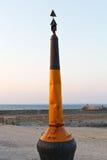 Hålla flytande på stranden av Atlantic Ocean i Piriac-sur-Merstad Arkivfoto