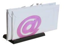 hållare för 2 kuvert Arkivbild