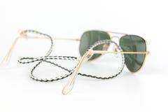 Hållare för solglasögon för mantillbehör klassisk Fotografering för Bildbyråer