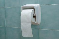Hållare för toalettrulle royaltyfria foton