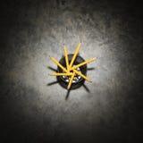 hållareblyertspennor royaltyfri fotografi