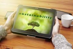 hållbar utveckling royaltyfria foton
