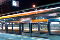 Hållplats Arkivfoto