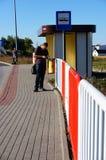 Hållplats royaltyfria bilder