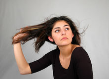 hår för 8 dans arkivbild