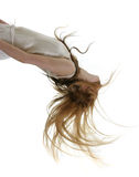 hår long Arkivfoto