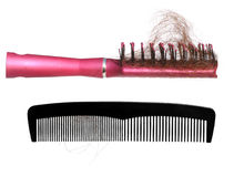 hårborstar Arkivfoto