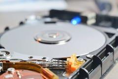 hård insida för disk Arkivfoton