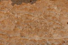 Hård kant för naturlig rostig brun sten arkivfoton