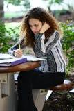 hård study Royaltyfria Foton