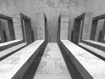 Hårdna arkitektur Abstrakt industriell konstruktionsbackgrou Arkivbild