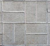 Hårdna eller lappa gråa trottoartjock skiva eller stenar royaltyfria foton