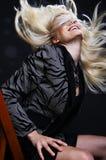 hårflyttning Royaltyfria Bilder