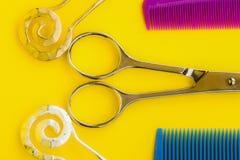 hårkammar Fotografering för Bildbyråer