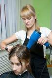 hårsalong Fotografering för Bildbyråer