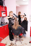 hårsalong Arkivbild