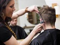 hårsalongläge Fotografering för Bildbyråer