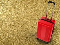 hårt bagage för fall Royaltyfri Fotografi