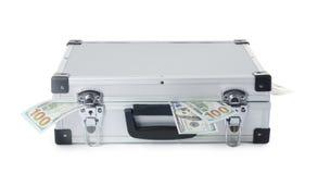 Hårt fall mycket av pengar arkivbilder