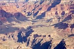 Hårt Grand Canyon landskap arkivbild