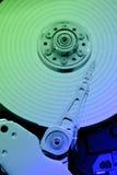 hårt minne för färgrik disk Fotografering för Bildbyråer