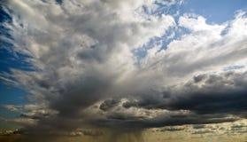 Hårt regn Arkivbild