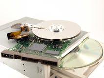 hårt ROM-minne för cd detaljdrev Royaltyfri Foto