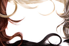 hårtextur Royaltyfri Bild