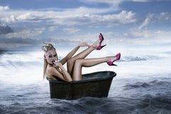 hårutvikningsbrudstil Fotografering för Bildbyråer