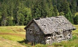 Hé hutte putréfiée Photo libre de droits