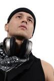 Hé M. DJ Image libre de droits