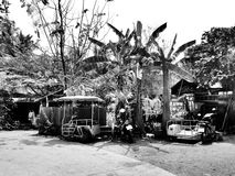 Hébergement chez l'habitant d'Amphawa Photo stock