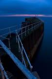 Hébergez au crépuscule photo libre de droits