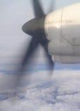 Hélice de Airplaine Fotografia de Stock